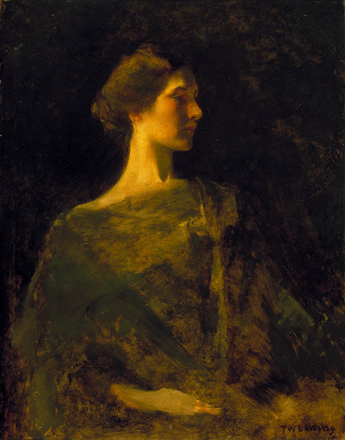 Thomas Dewing - Alma