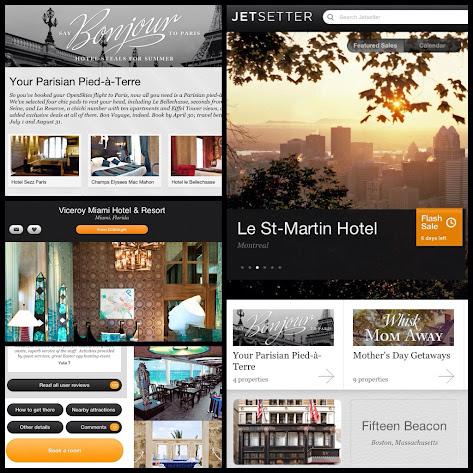 Top Ten Ipad Apps Jetsetter App Review Travel Discounts