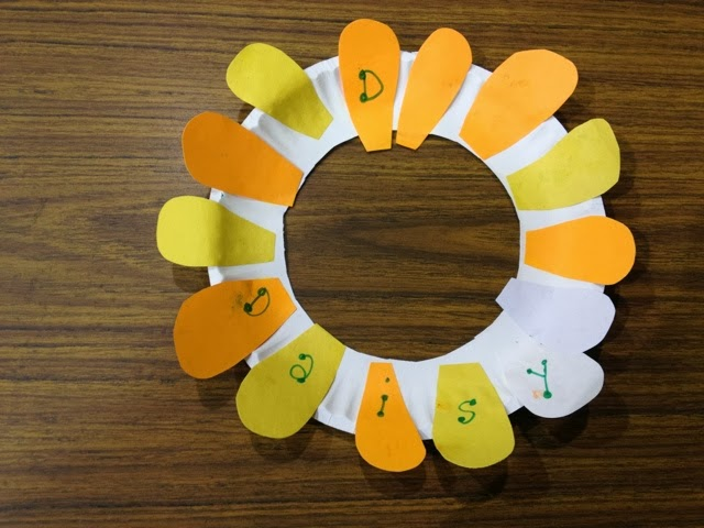 HVCS K 3 Letter D crafts