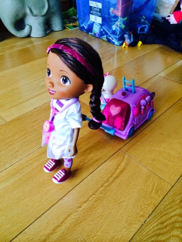 Doctober Doc Mcstuffins Walk n Talk Mobile