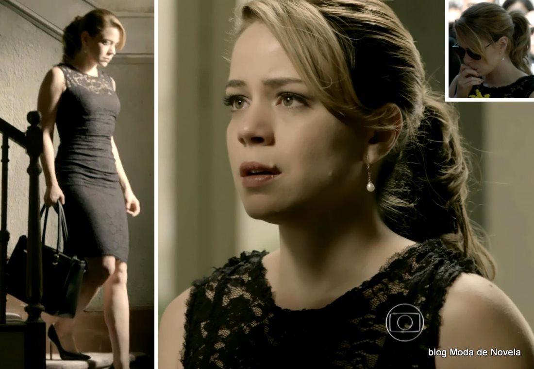 moda da novela Império, look da Cristina dia 19 de dezembro