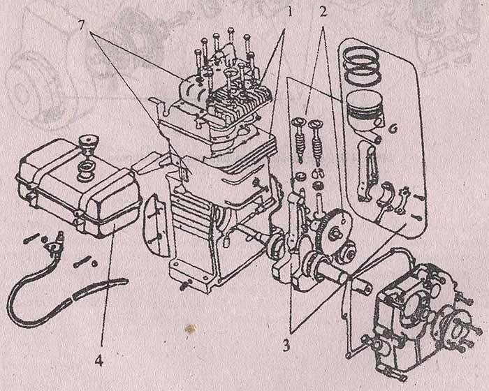 кривошипно-шатунный механизм 3