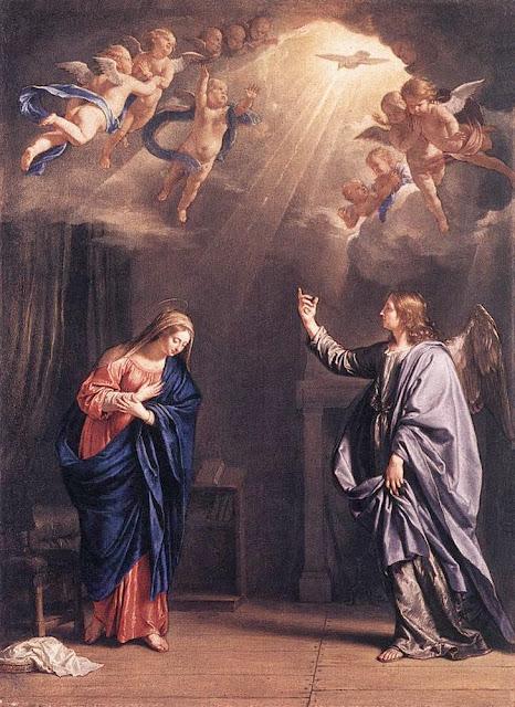 Philippe de Champaigne - The Annunciation