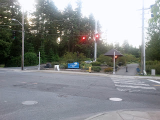 Start of the main trail at 145th