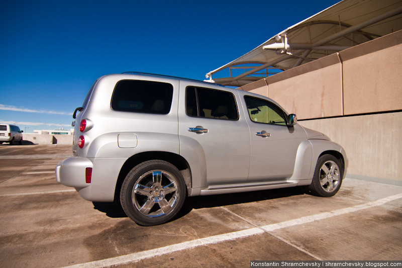 Chevrolet HHR Heritage High Roof Chrysler PT Cruiser Шевроле Эйч Эйч Ар Херитейдж Хай Руф Новая машина под старину Крайслер ПиТи Круизер