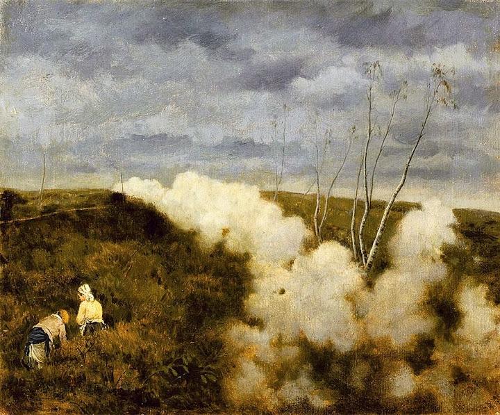 Giuseppe de Nittis - The train passes