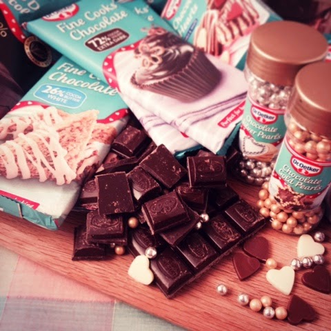 Caramel Kiss Brownies with Dr. Oetker #evenbetterbaking