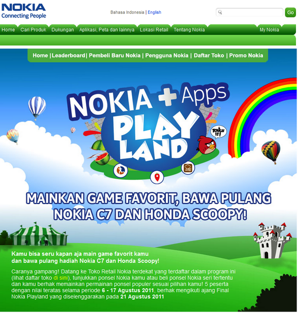 Nokia Playland