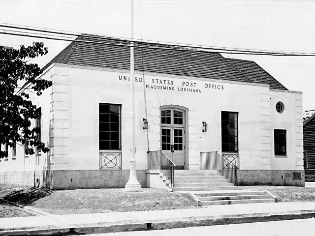 Plaquemine post office, 1936