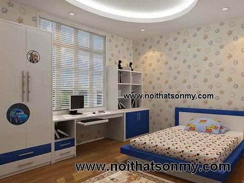 Bộ nội thất phòng ngủ cho bé