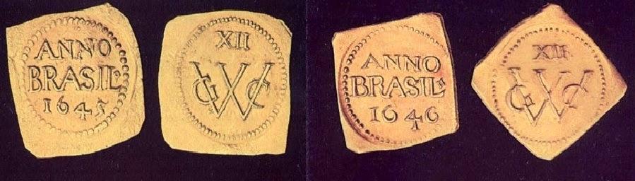 Ducado (Florim) do Brasil. Acervo Itaú Numismática, São Paulo, Museu Herculano Pires. Via: CFNT.