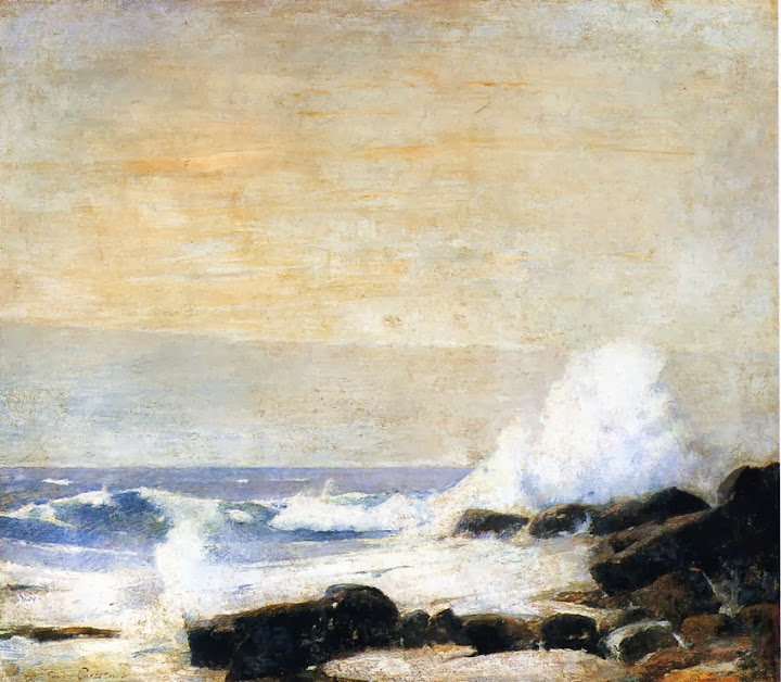 Emil Carlsen - The Majestic Sea