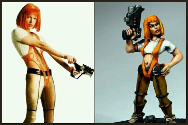 Leeloo Heresy Miniatures