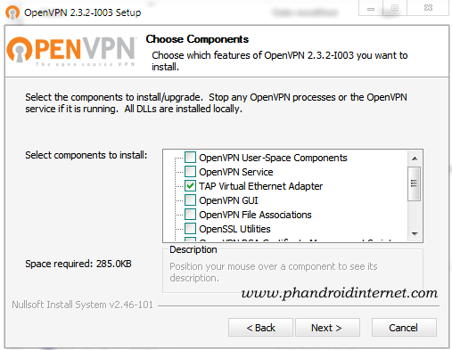 OpenVPN Portable 2 3 2 with TAP Driver 9 0 0 9 ~ My Android