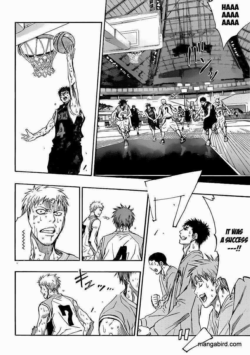 Kuroko no Basket Manga Chapter 265 - Image 12