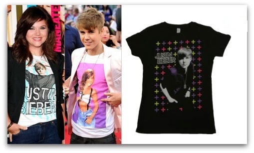 Celebrities image on t-shirt
