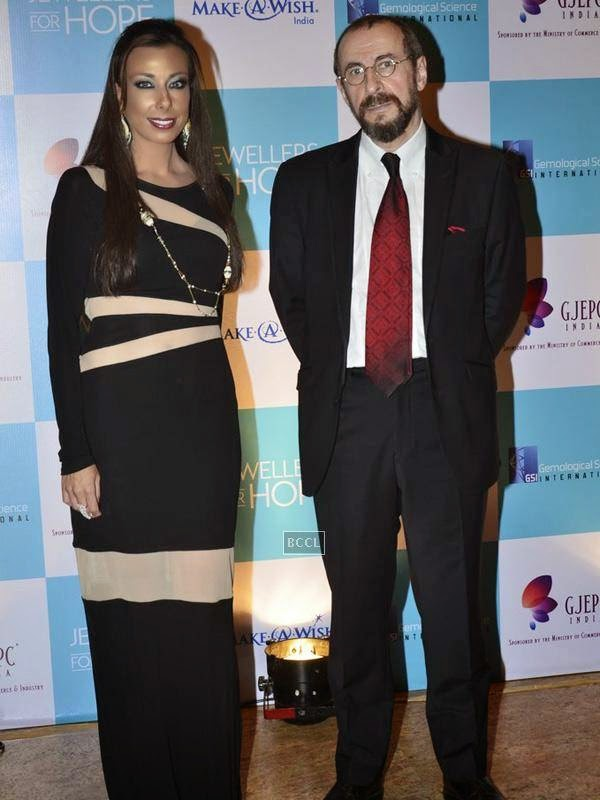 A still from the Gems and Jewellery Export Promotion Council (GJEPC) charity gala dinner at Grand Hyatt, Mumbai.(Pic: Viral Bhayani)
