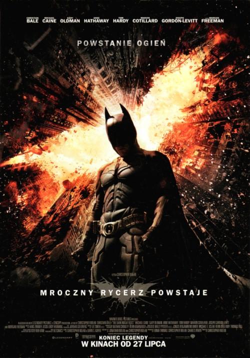 Plakat z filmu: Mroczny Rycerz Powstaje