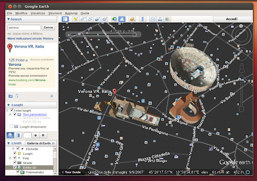 Google Earth 7 su Ubuntu