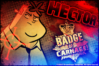 Hector Badge of Carnage adventure game for the iPad, iPhone and iPod Touch