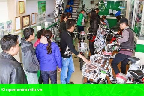 Hình 2: HKbike khuấy đảo thị trường xe điện dịp giáp Tết