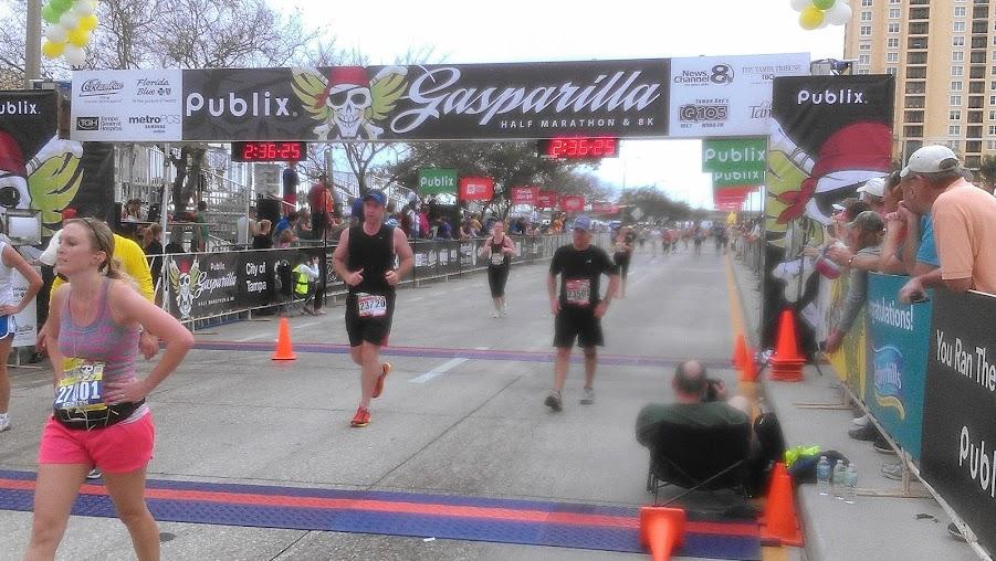 IMAG0327 Gasparilla Half Marathon 2013 {recap}