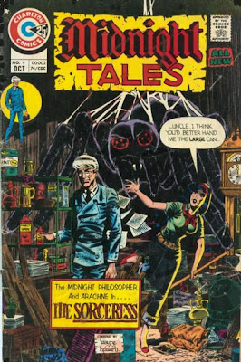 Charlton Comics, Midnight Tales #9, Arachne and Professor Coffin, The Sorceress
