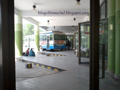 Inter-State Bus Terminus at Tutikandi ( Shimla )