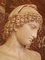 Γανυμήδης,θεοποιημένος μυθικός νέος, περίφημος για την ομορφιά του, απήγαγε ο Δίας για υπηρέτη του.