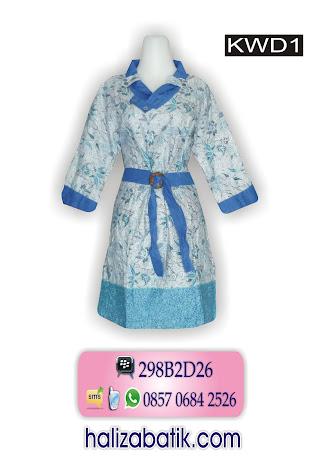 grosir batik pekalongan, Dress Batik, Batik Modern, Model Dress