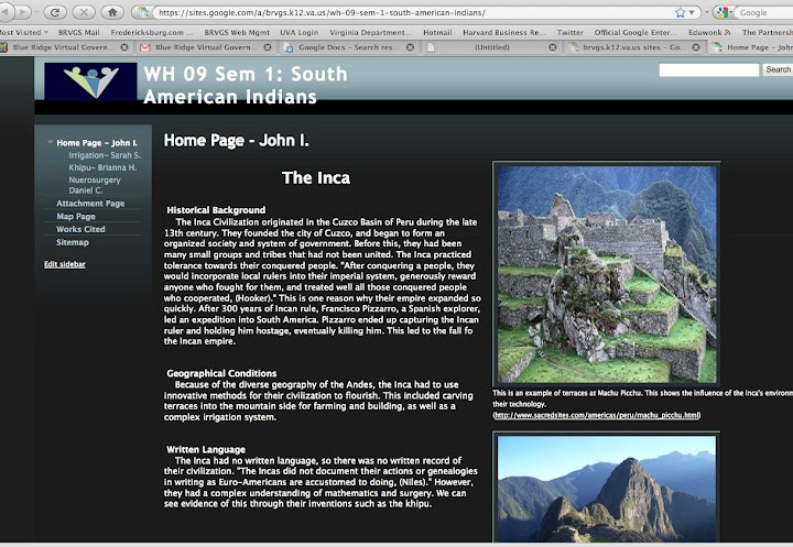Blue ridge virtual governors school home world history website the 9th grade students of the brvgs world history classes have recently completed a group website project in which teams of students from different brvgs gumiabroncs Images