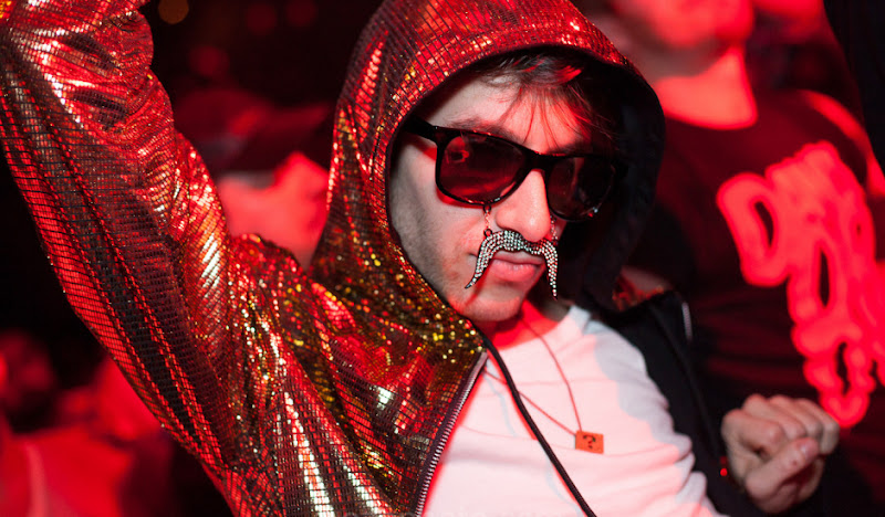 Disco Hoodie Sunglasses and Mustache