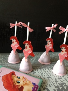 Cups And Pops Mexico Cake Pops Ariel Y Flounder