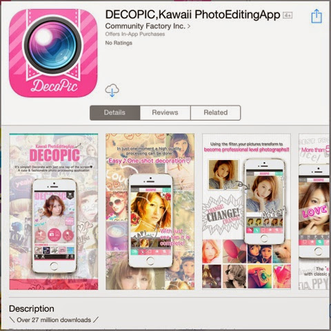 Kawaii #Pink: Best Girly Photo Editing Apps for A Super