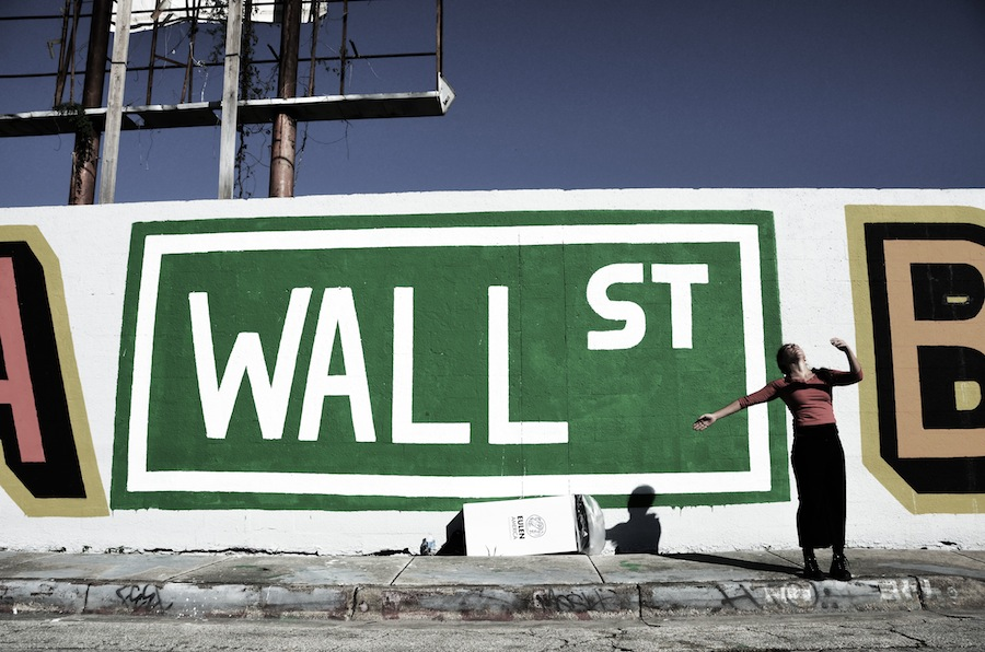 Wall St by Robby Campbell