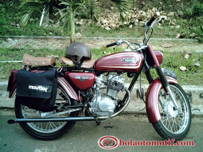 Modifikasi Honda CB 100 Jadul_5