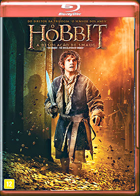Filme Poster O Hobbit: A Desolação de Smaug BDRip XviD Dual Audio & RMVB Dublado
