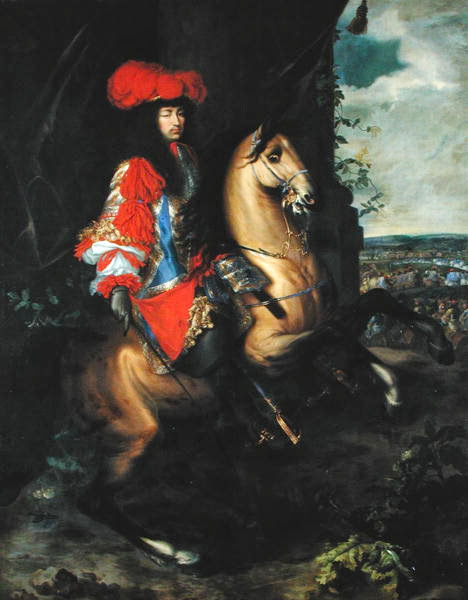 Charles Le Brun - Louis XIV Equestrian Portrait