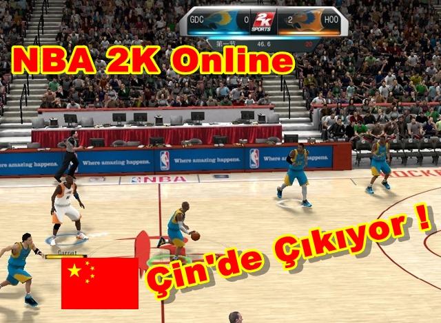 NBA 2K Online Çin'de Çıkıyor !