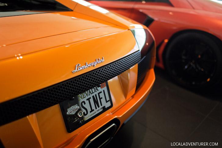 Las Vegas Lamborghini Test Drive.