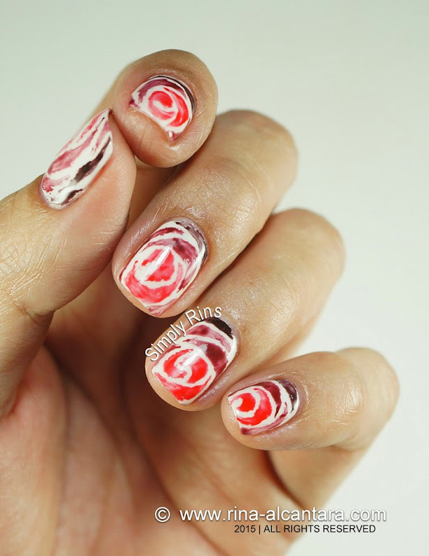 Nail Art: Love Never Fades by Simply Rins