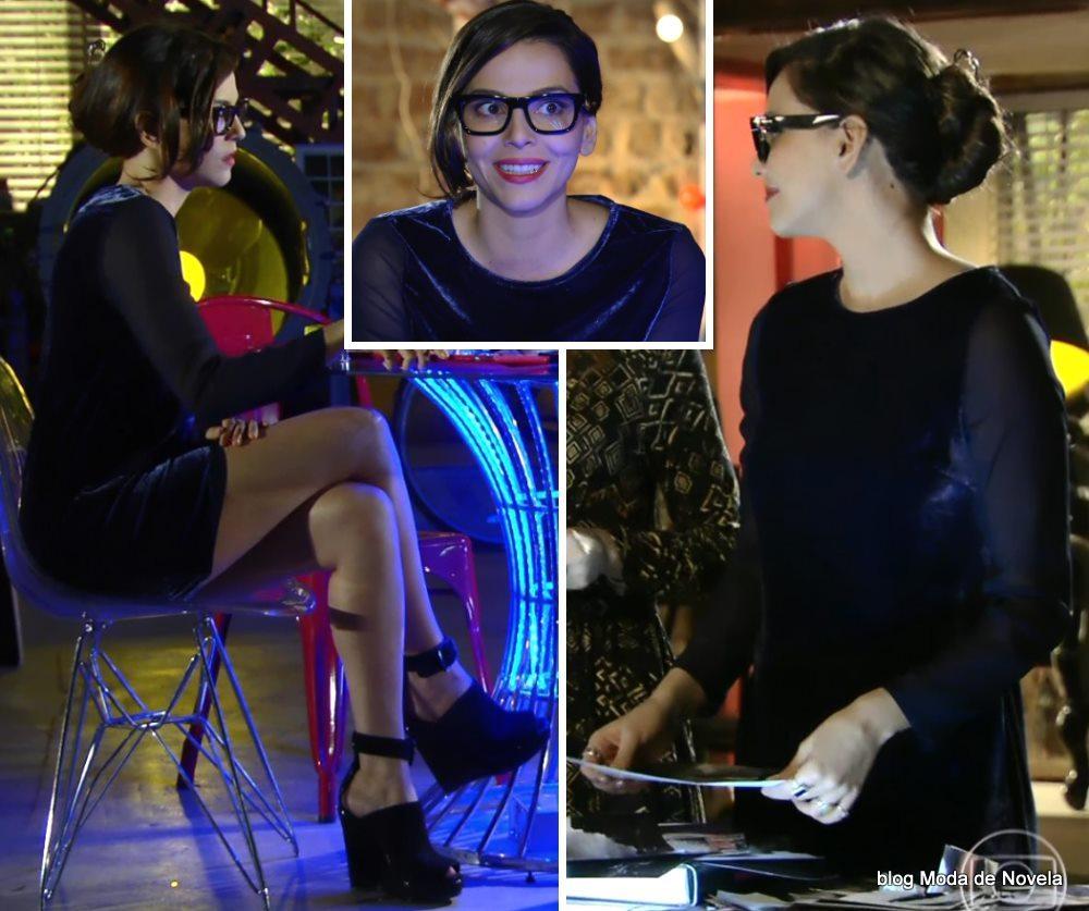 moda da novela Em Família - look da Marina dia 24 de maio