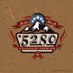 Colorado Premium 5280 Brand Logo