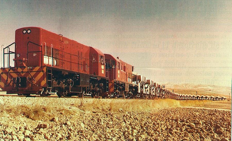 tren a su paso por rivas