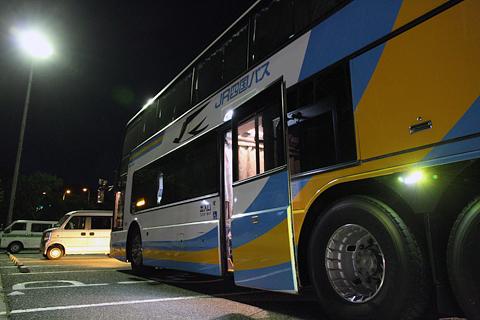 JR四国バス「ドリーム高松号」 694-5950 淡路島南PAにて その4