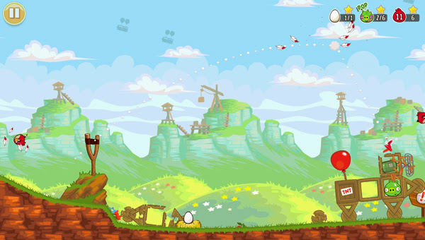 Angry Birds ra mắt phiên bản Red's Mighty Feathers 10