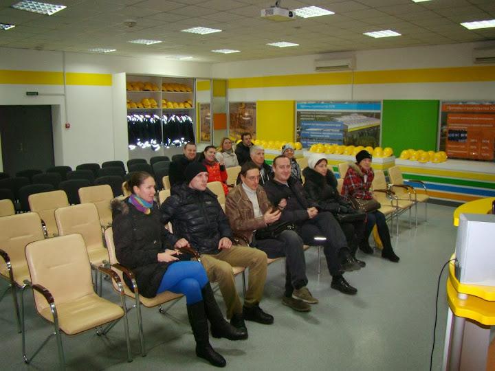 Ольга Влох на экскурсии на ИНТЕРПАЙП, InGreen