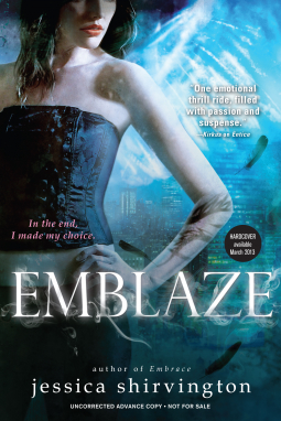 Emblaze blog tour [author interview+giveaway!]