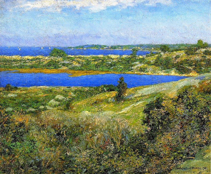 John Leslie Breck - View of Ipswich Bay
