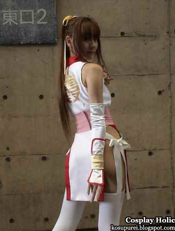 dead or alive cosplay - kasumi